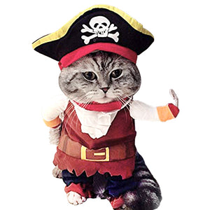 Pirate Cat Costume - Kawaii Kitty, The cutest Cat themed Gifts for cat lovers