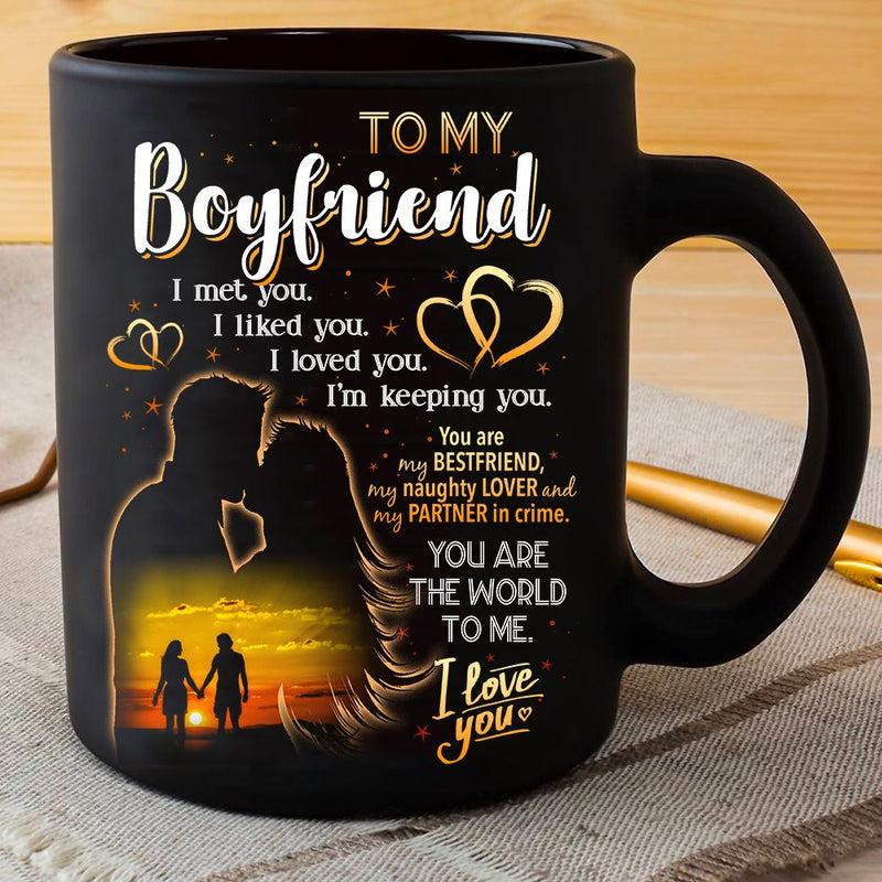 I Love You Couple Valentine Gift For Boyfriend Mug