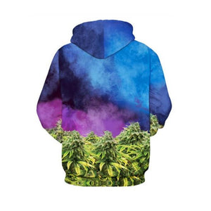 430 Cat Weed Cool 3D Hoodie For Men and Women