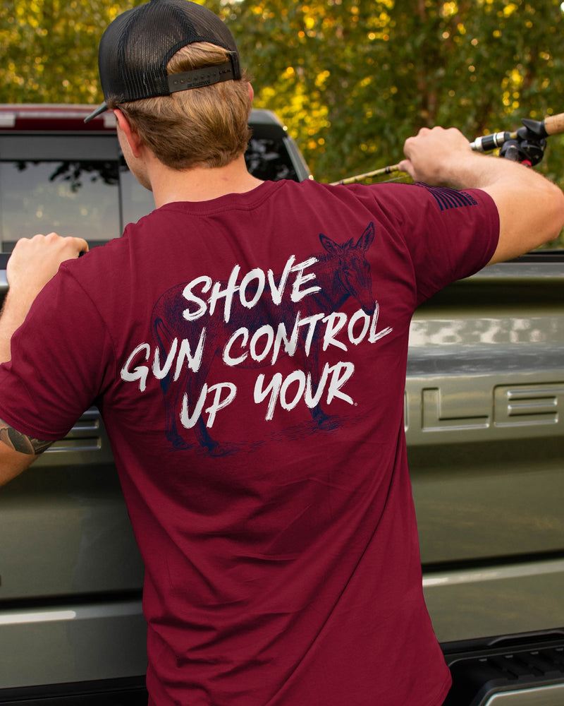 Shove Gun Control Up Your Christmas Shirt