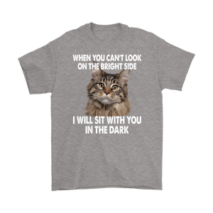 Cat Will Sit With You In The Dark