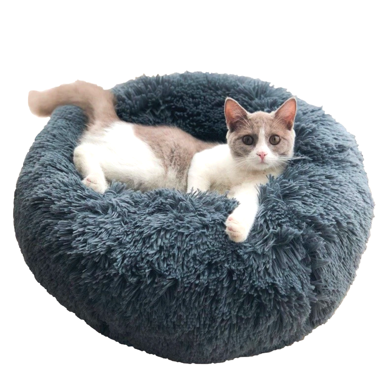 Comfy Plush Bed - Kawaii Kitty, The cutest Cat themed Gifts for cat lovers