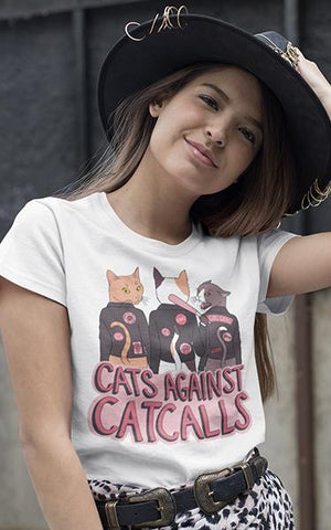 Cats Against Catcalls Shirt