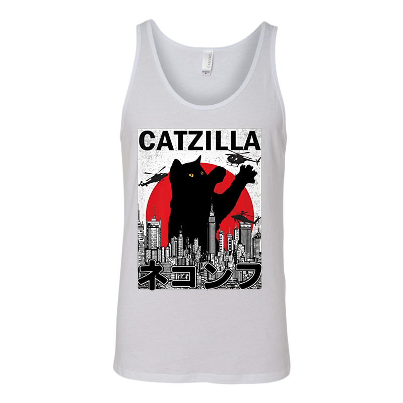 Cat Catzilla T Shirt Apparel