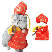 Monk Cat Costume - Kawaii Kitty, The cutest Cat themed Gifts for cat lovers