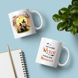 Witch Family Halloween Mug