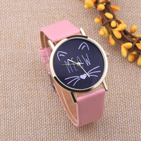 Meow Kitty Watch - Kawaii Kitty, The cutest Cat themed Gifts for cat lovers