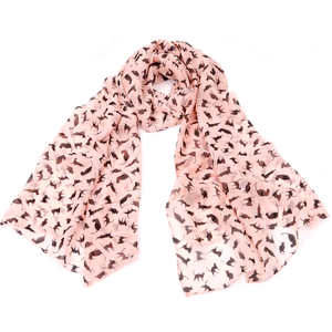 Cat silhouette scarf - Kawaii Kitty, The cutest Cat themed Gifts for cat lovers