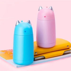 Cute Cat Thermos - Kawaii Kitty, The cutest Cat themed Gifts for cat lovers