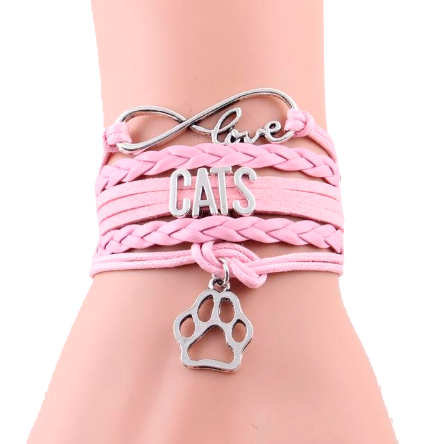 Cat Love Bracelet - Kawaii Kitty, The cutest Cat themed Gifts for cat lovers