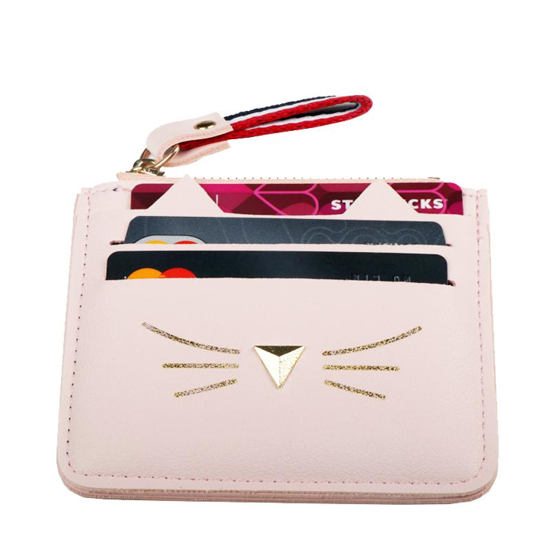 Cute Cat Wallet - Kawaii Kitty, The cutest Cat themed Gifts for cat lovers