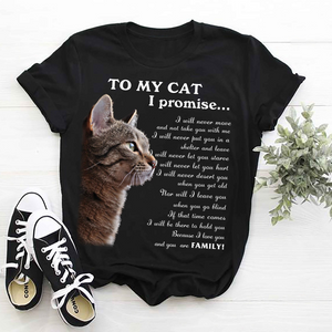 Cat Because You Are Family Shirt