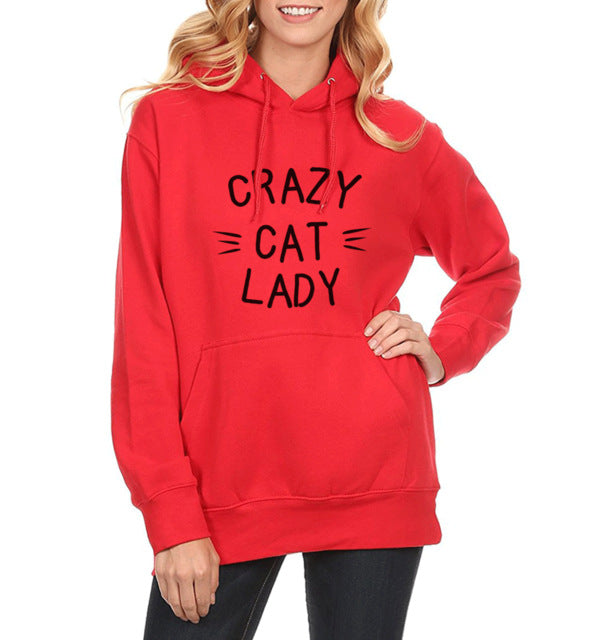 Crazy Cat Lady Hoodie - Kawaii Kitty, The cutest Cat themed Gifts for cat lovers