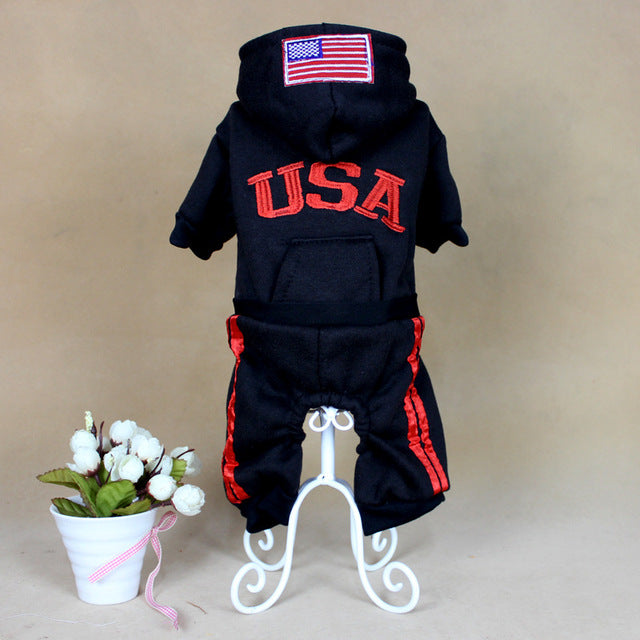 Team USA Cat Outfit - Kawaii Kitty, The cutest Cat themed Gifts for cat lovers