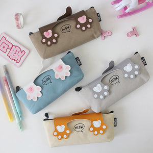 Cute Paw Pencil case - Kawaii Kitty, The cutest Cat themed Gifts for cat lovers