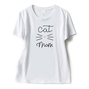Cat Mom T-shirt - Kawaii Kitty, The cutest Cat themed Gifts for cat lovers
