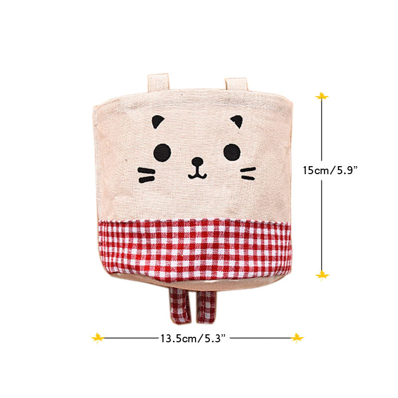 Cat Face Hanging Container - Kawaii Kitty, The cutest Cat themed Gifts for cat lovers