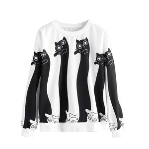 Wobbly Cats Sweater - Kawaii Kitty, The cutest Cat themed Gifts for cat lovers