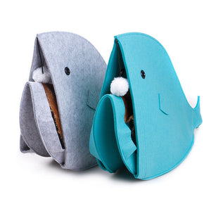 Whale Cat Bed - Kawaii Kitty, The cutest Cat themed Gifts for cat lovers