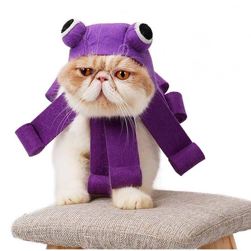 Octopus Cat Costume - Kawaii Kitty, The cutest Cat themed Gifts for cat lovers