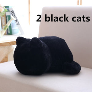 Kitty Minimalist Cushions - Kawaii Kitty, The cutest Cat themed Gifts for cat lovers