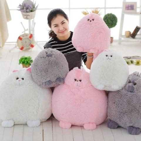 Huge Persian Cat Fluffy Plushes - Kawaii Kitty, The cutest Cat themed Gifts for cat lovers