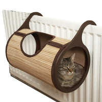 Natural Bamboo Tunnel Cat Bed - Kawaii Kitty, The cutest Cat themed Gifts for cat lovers