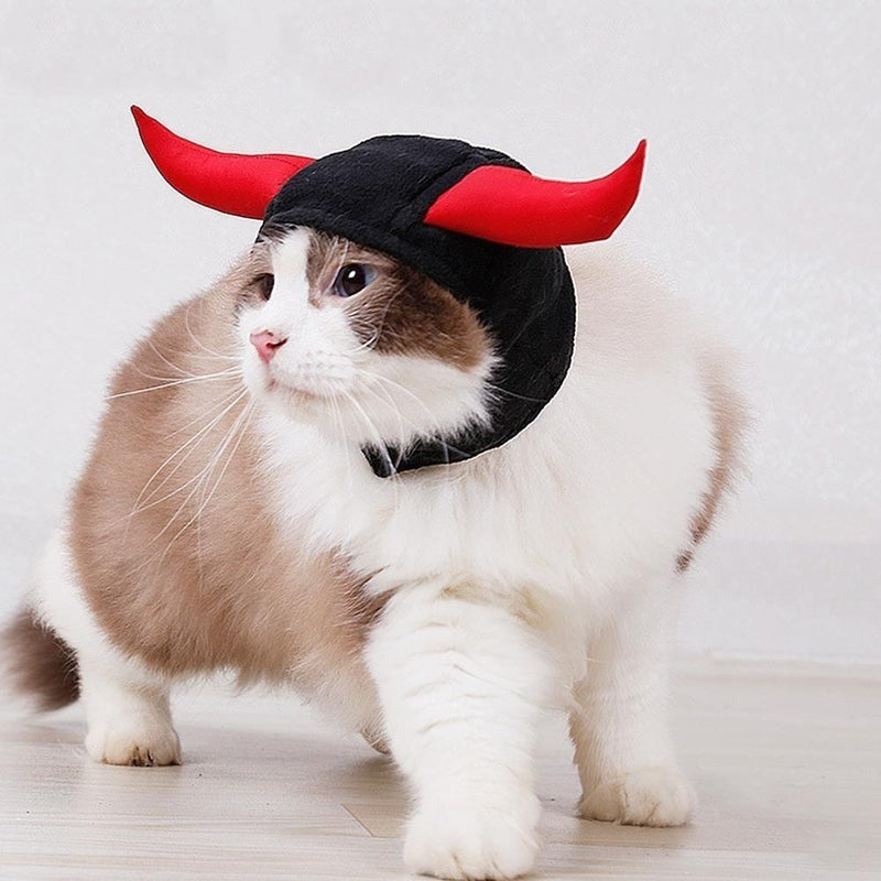 Demon Cat Hat - Kawaii Kitty, The cutest Cat themed Gifts for cat lovers