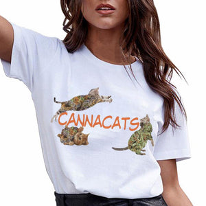 Cannacats 420 Cat Shirt