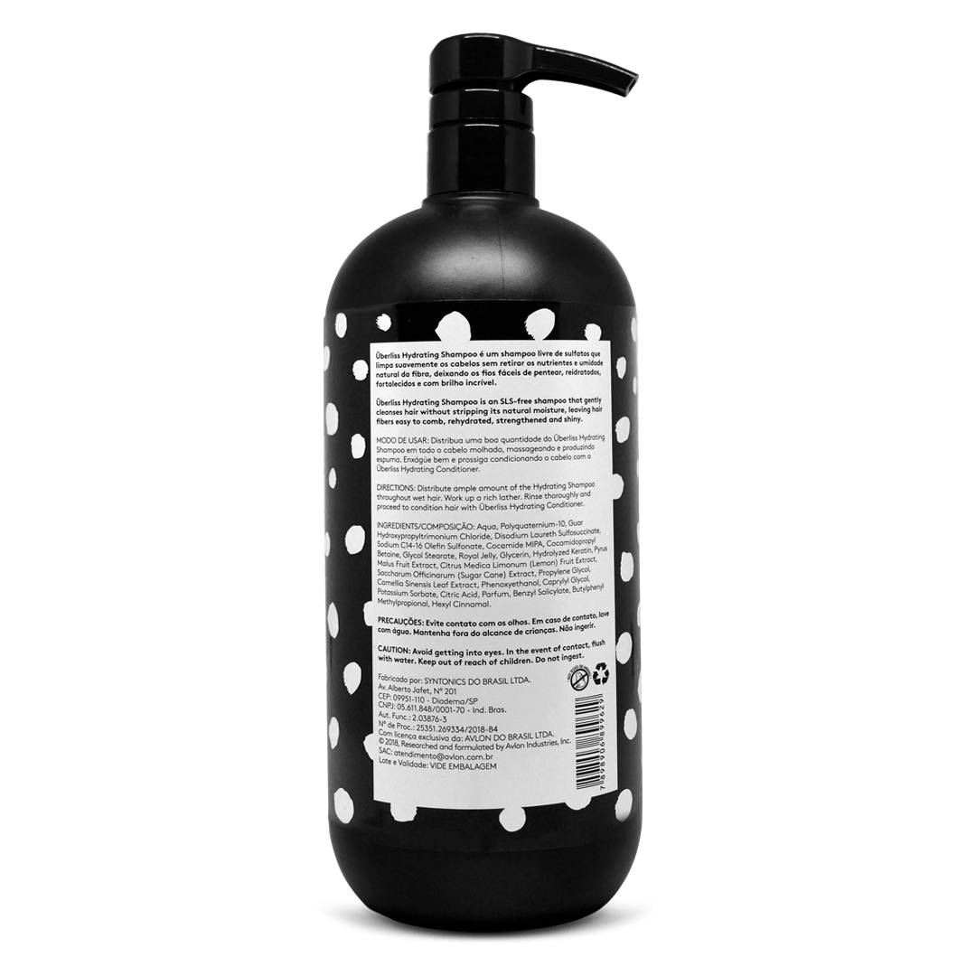 Überliss Hydrating Shampoo 950ml