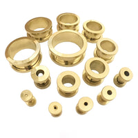 Gold Screw Fix Ear Tunnel Stretcher