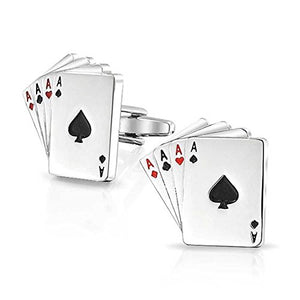 Poker Aces Cufflinks