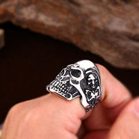 stainless steel mens rings UK