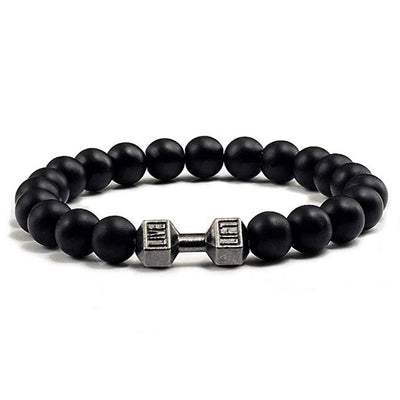 Gloss Dumbbell Bead Bracelet