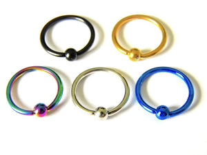 Stainless Steel CBR Ball Closure Ring