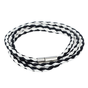 Braided Leather Bracelet / Necklace