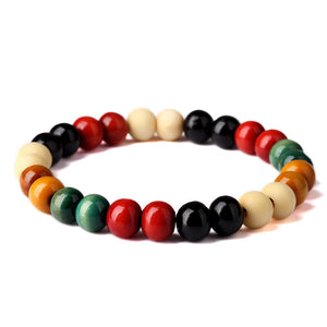 Multi color beaded bracelet UK