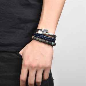 Triple Retro Bracelet Set