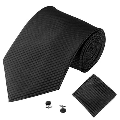 Black Mens Tie Accessories