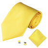Yellow Mens Tie Accessories
