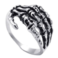 Stainless Steel Skeleton Ring Online