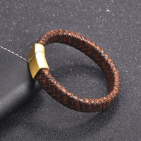 mens leather bracelets designer UK