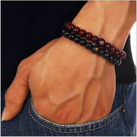 mens designer beaded bracelets UK