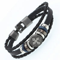 affordable leather bracelets UK