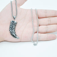 Stainless Steel Fang Necklace