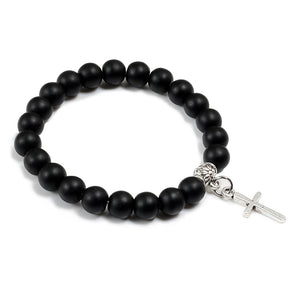 mens beaded bracelets UK