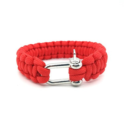 Red Paracord Bracelet