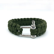 Army Green Paracord Bracelet