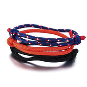Triple Set Rope Bracelets