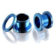 Blue Screw Fix Ear Tunnel Stretcher